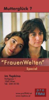"""Anzeige zu den FrauenFilmTagen Special """"Mutterglück?"""""""